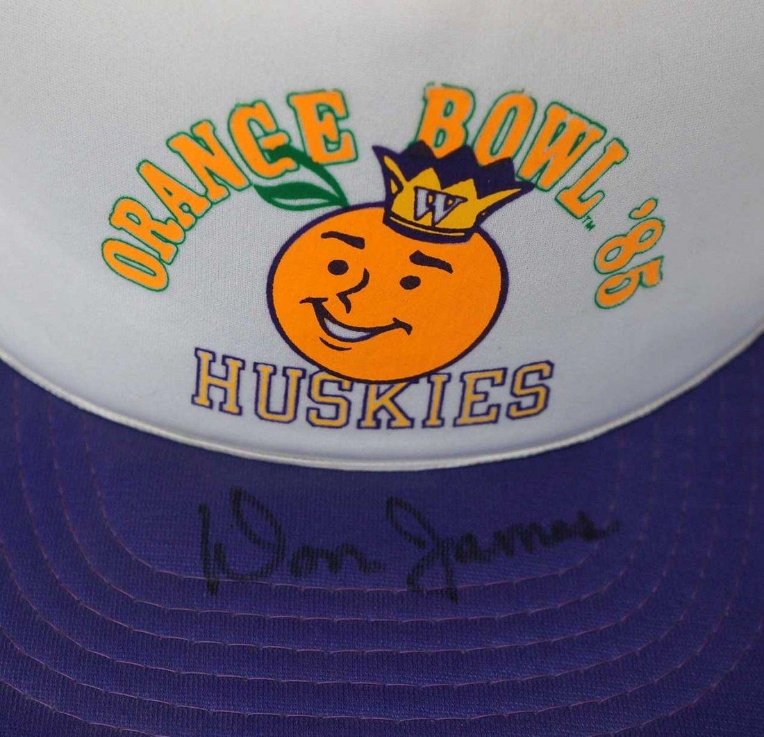 Don James Signed Orange Bowl Baaseball Hat. EX-MT. - 2