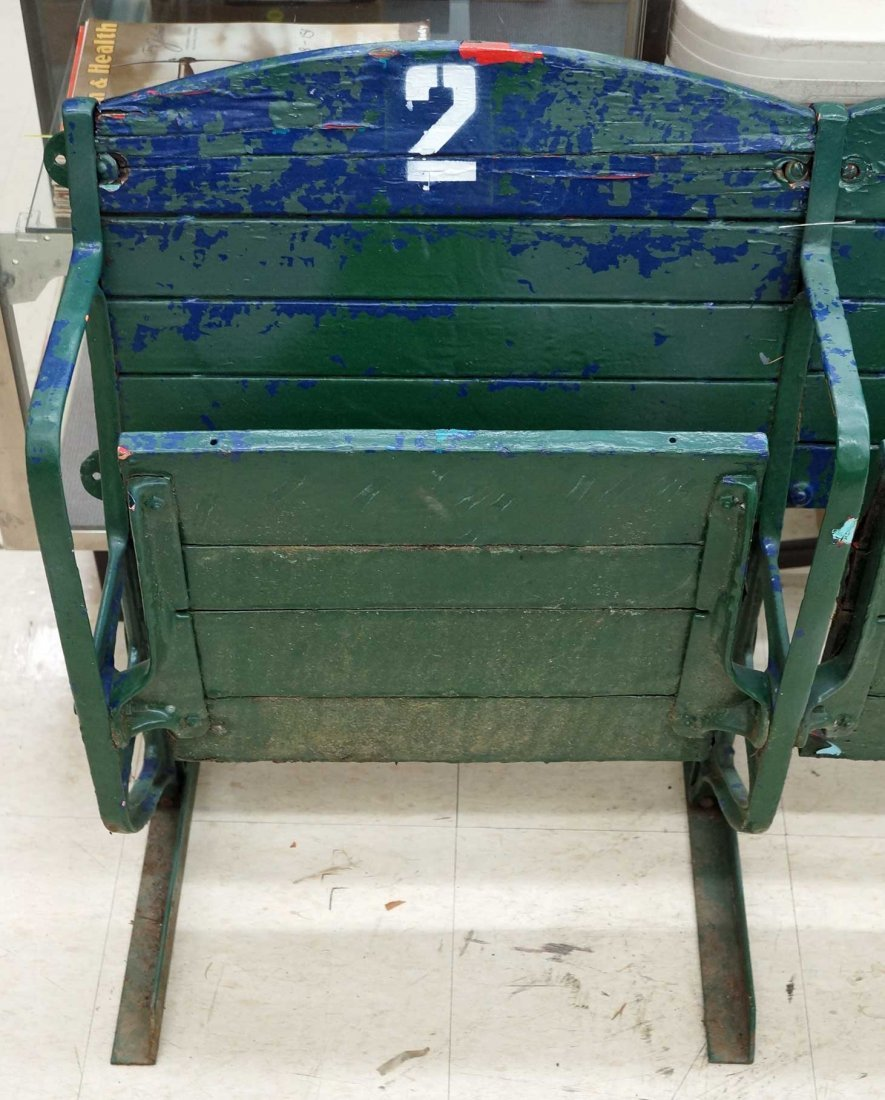 Pair of Stadium Seats from Cheney Stadium, Tacoma,