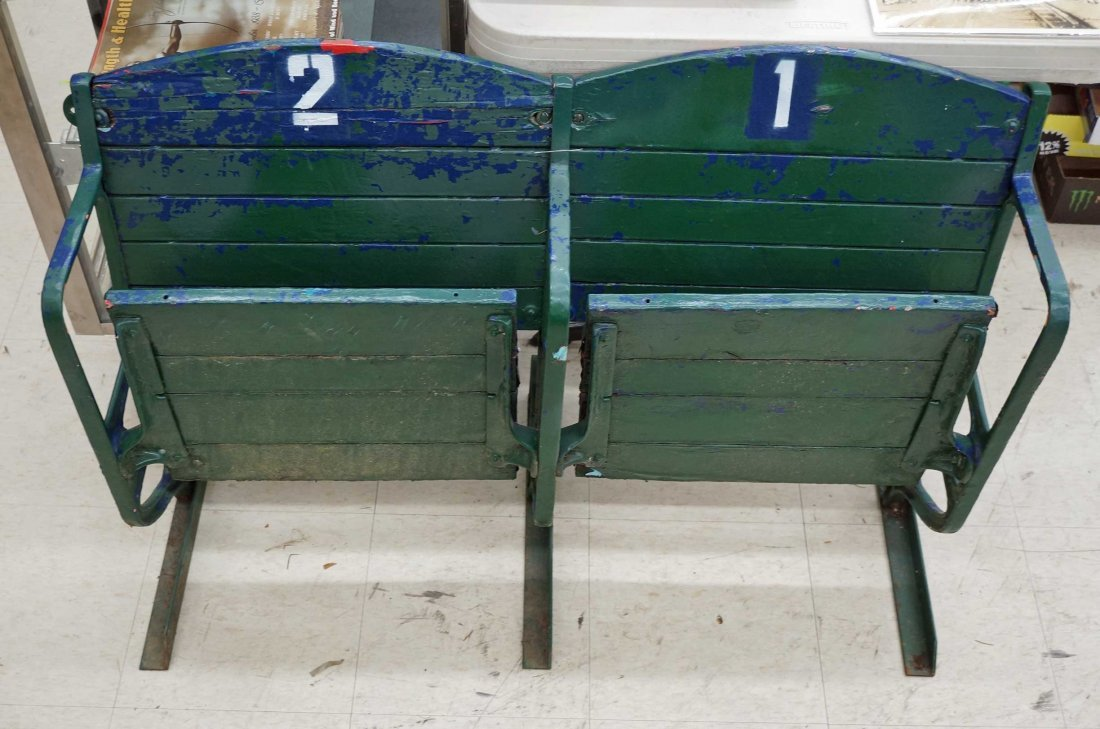 Pair of Stadium Seats from Cheney Stadium, Tacoma, - 2