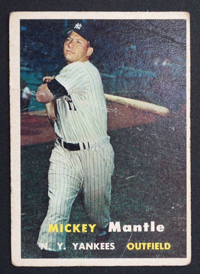 1957 Topps Mickey Mantle G/VG