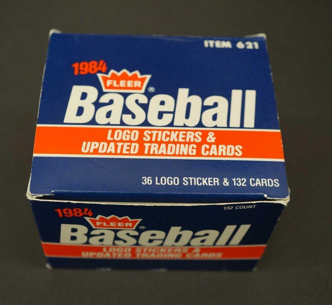 1984 Fleer Update Baseball Card Set. Complete set with - 3