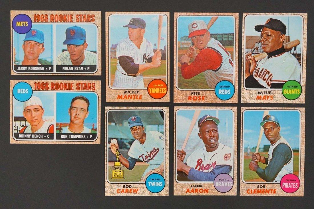 1968 Topps Baseball High Grade Complete Set. The finest