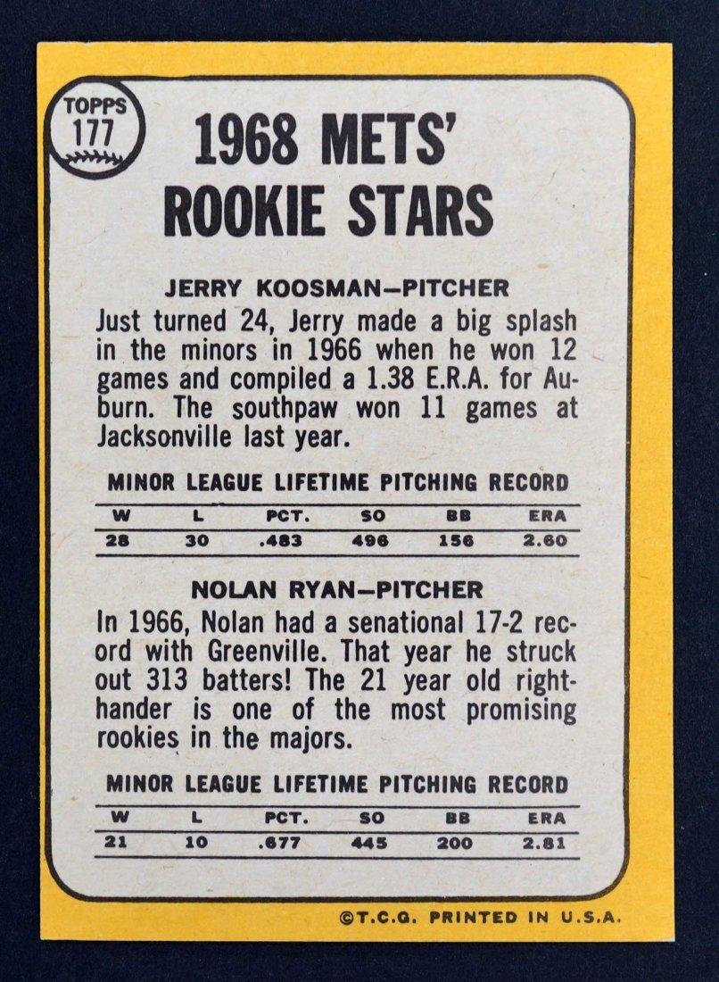 1968 Topps Baseball High Grade Complete Set. The finest - 4