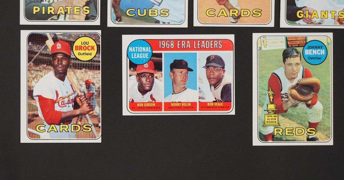 1969 Topps Baseball High Grade Near Complete Set - 3