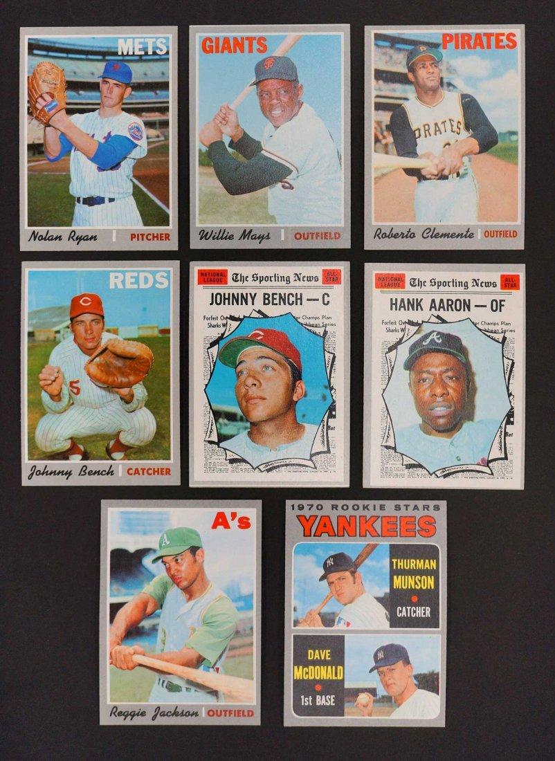 1970 Topps Baseball High Grade Complete Set. The finest