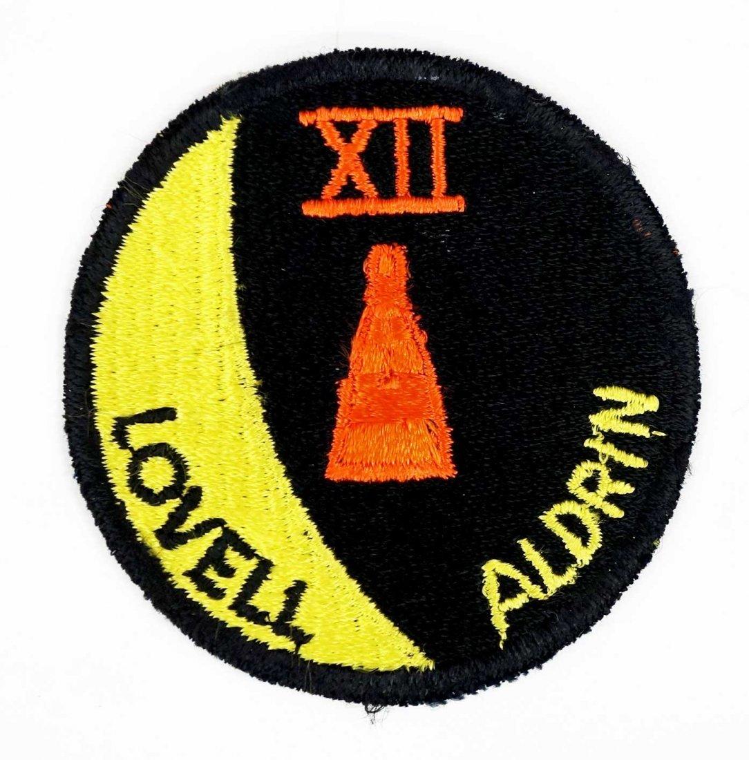 Original Gemini 12 Crew Patch. An authentic crew patch