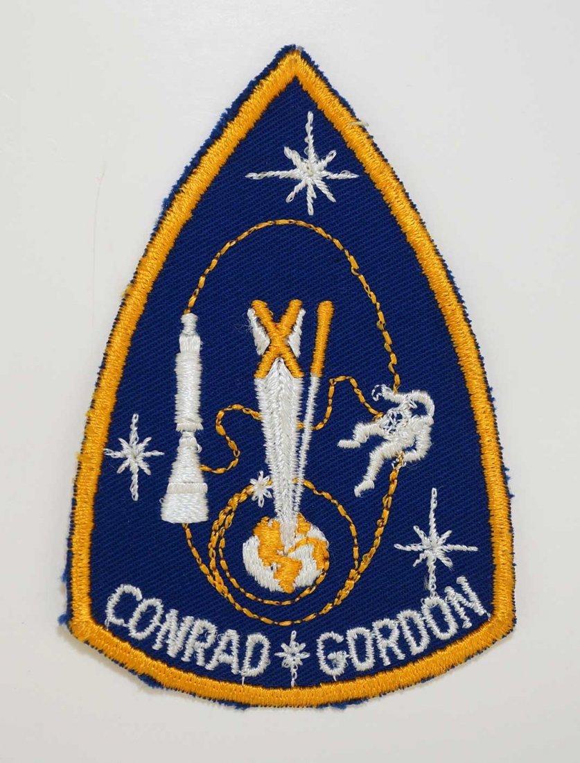 Original Gemini 11 Crew patch. Authentic NASA crew