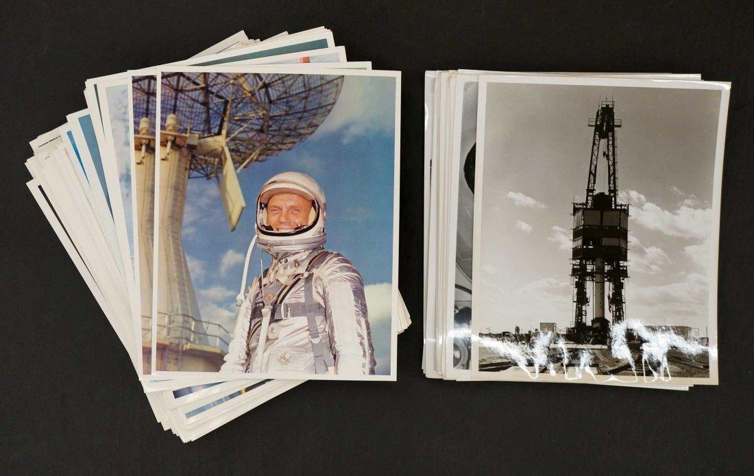 Large Group of NASA Publicity Photos. (210) photos