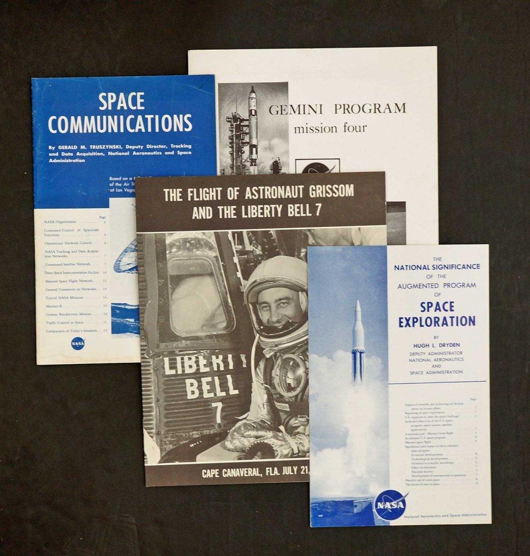 Group of NASA Mercury and Gemini Commemorative Covers,