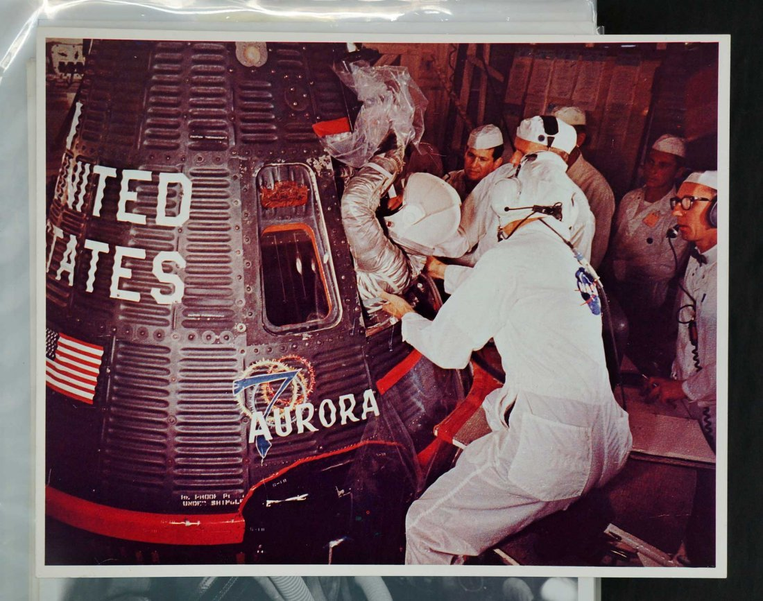 Large Group of Project Mercury and Gemini Publicity