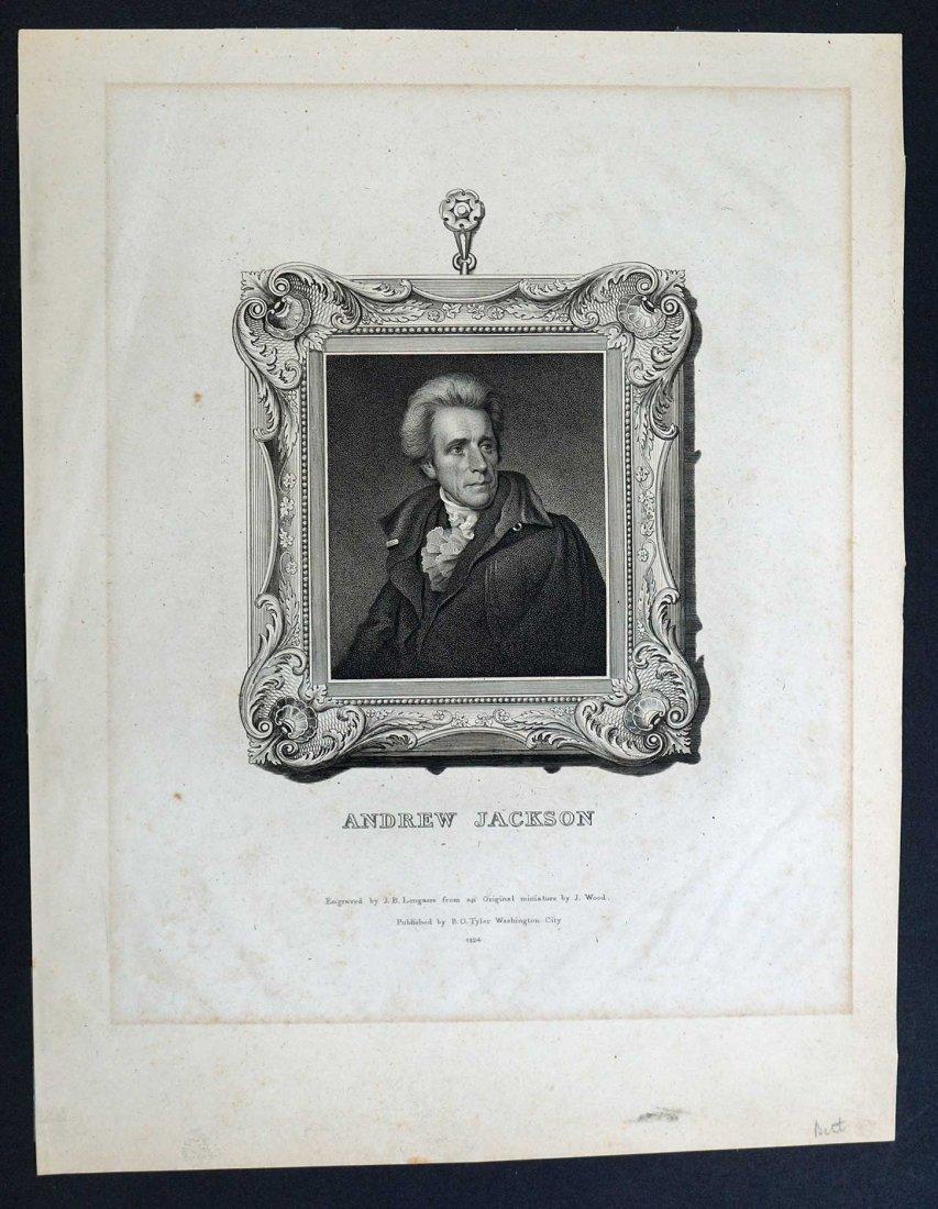 Andrew Jackson Autograph Letter Signed ALS. 8'' x 10'', - 4