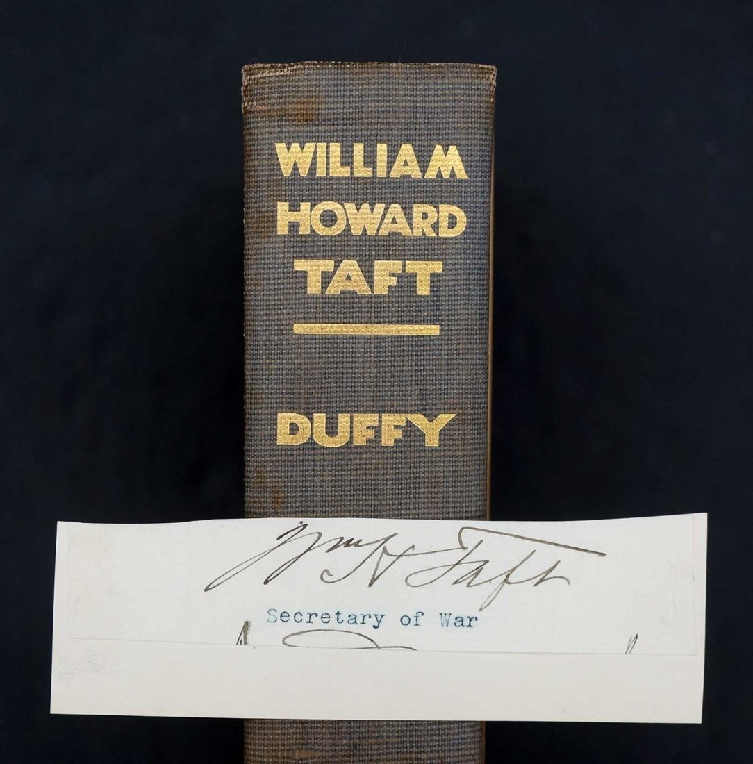 William Howard Taft by Herbert S. Duffy, 1930, New