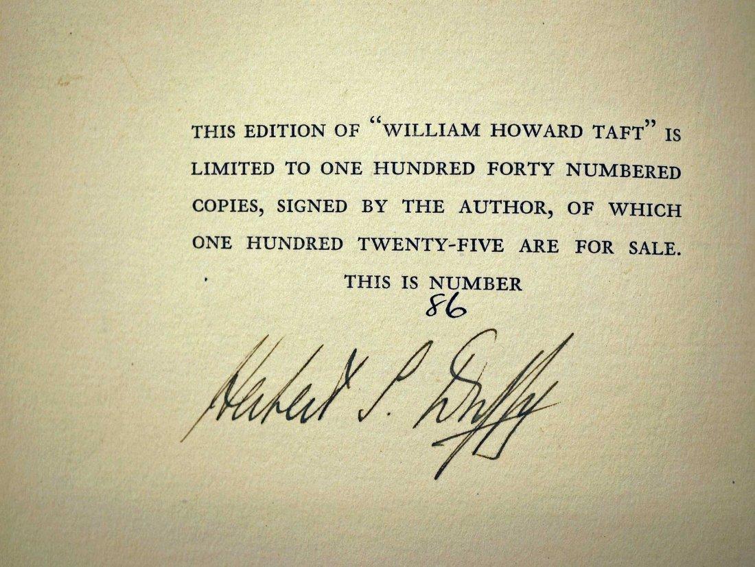 William Howard Taft by Herbert S. Duffy, 1930, New - 4