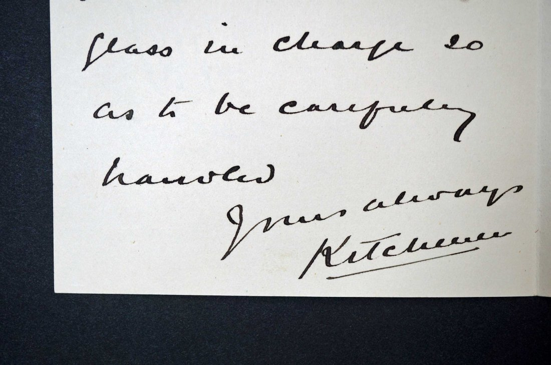 Field Marshall Herbert Kitchener Autograph Letter - 3