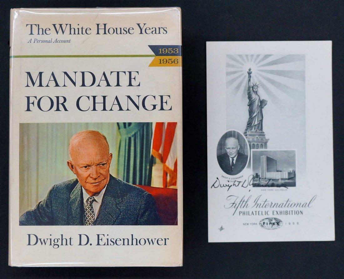 Dwight D. Eisenhower Book {Mandate for Change} 1963,