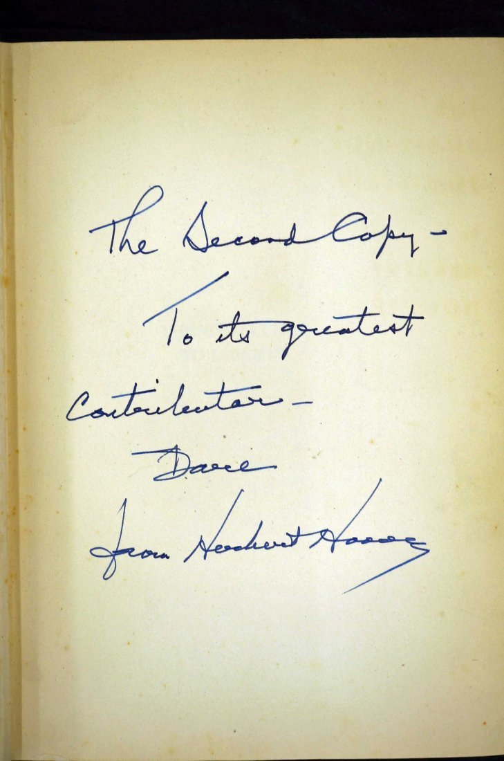 Herbert Hoover Signed Book {The Challenge to Liberty}. - 2