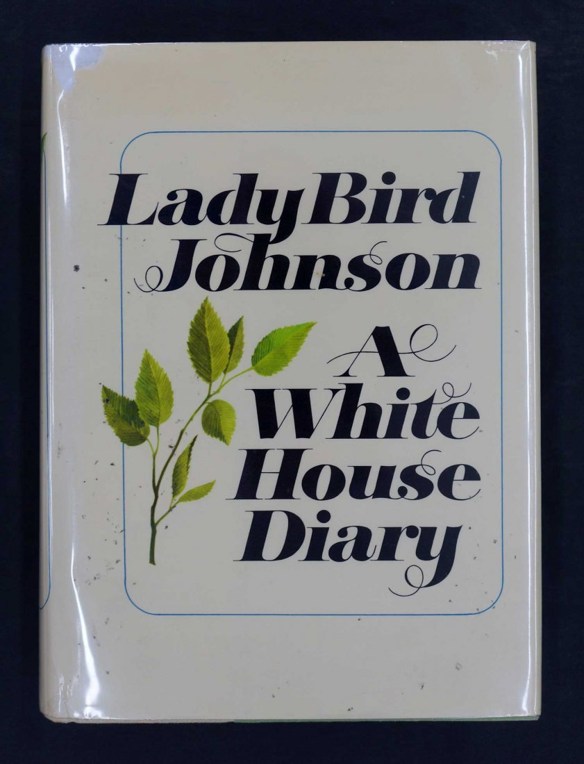 Lady Bird Johnson Signed First Edition {A White House