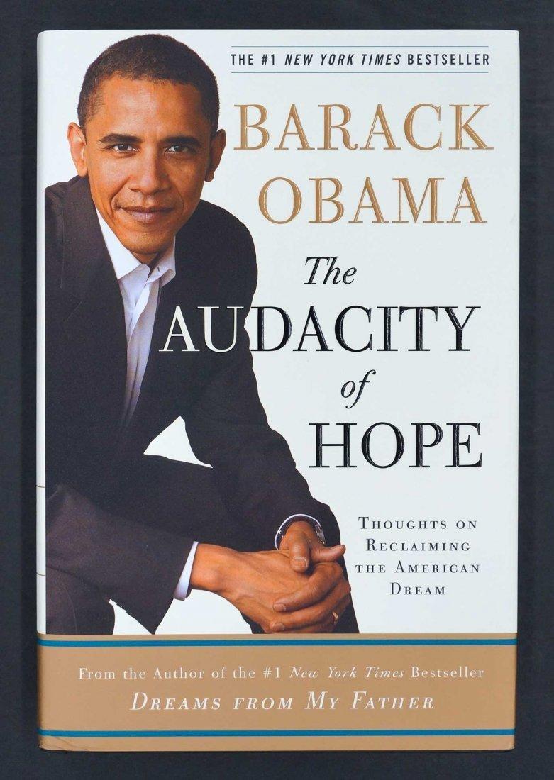 Barack Obama Signed Book {The Audacity of Hope} Signed