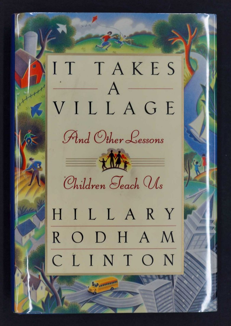 Hillary Clinton Signed Hardcover Book. {It Takes A