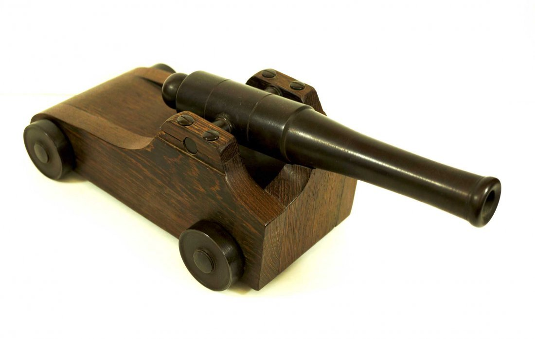 Model Cannon, Hand Made High Quality Bronze Cannon