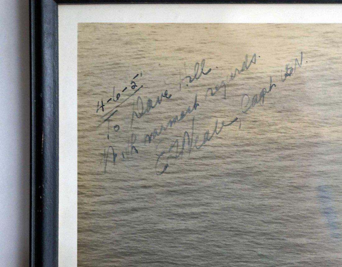 Vintage U.S. Navy Signed Photographs including Chester - 4