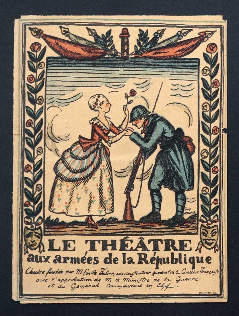 Sarah Bernhardt Signed Theater Program, Sept. 7, 1916. - 2