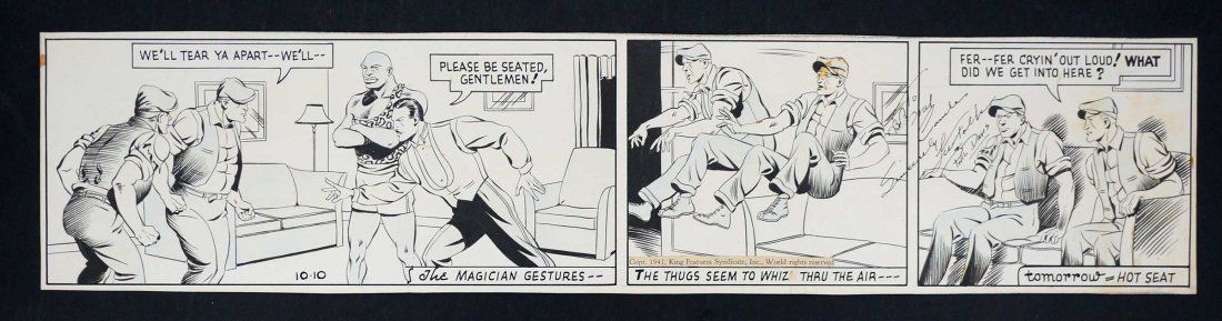 Phil Davis Mandrake the Magician Comic Daily Strip