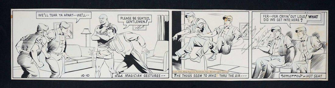 Phil Davis Mandrake the Magician Comic Daily Strip