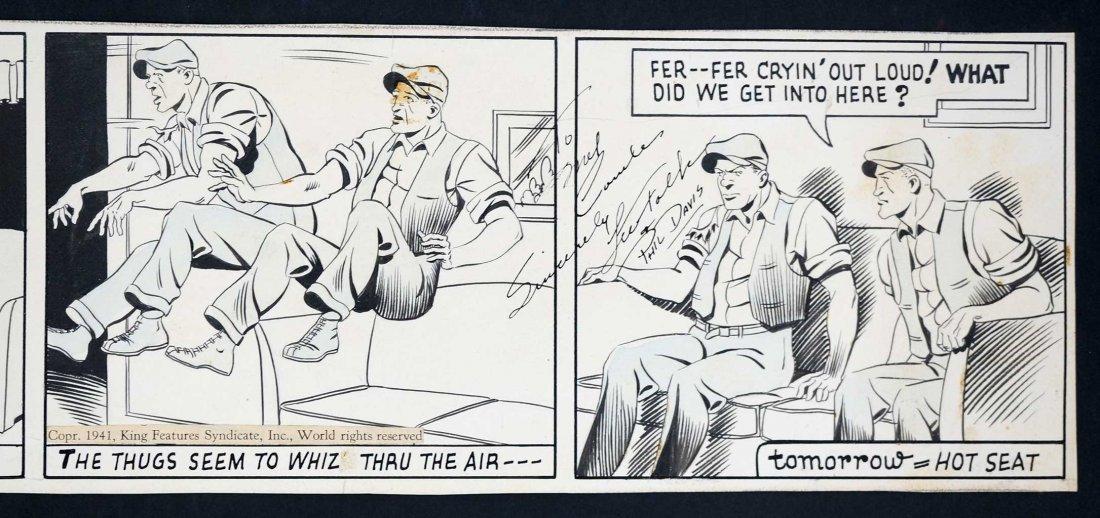 Phil Davis Mandrake the Magician Comic Daily Strip - 2