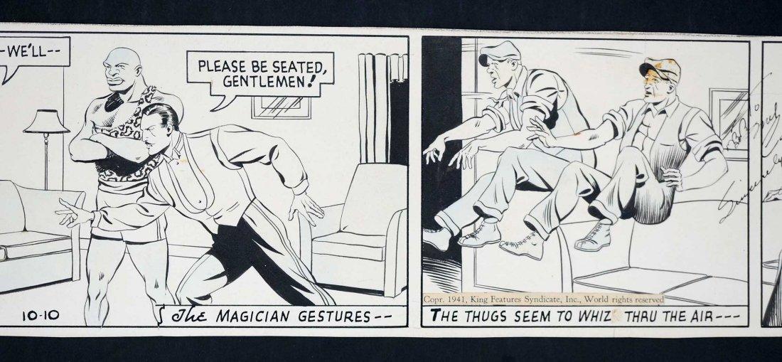 Phil Davis Mandrake the Magician Comic Daily Strip - 3