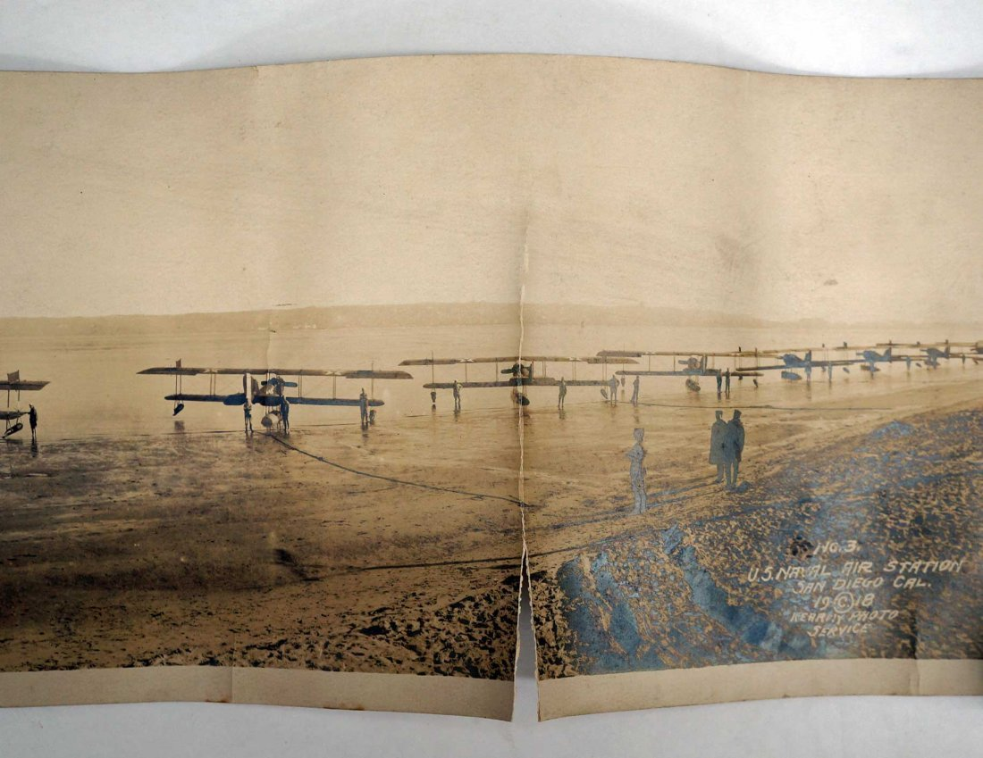 San Diego, Two Photographs Early Aviation, 1918-19 - 2