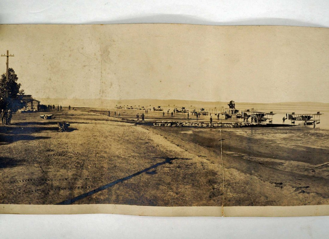 San Diego, Two Photographs Early Aviation, 1918-19 - 3