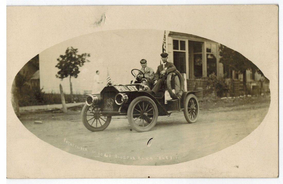 Pathfinder Madrid Booster Club Antique Real Photo
