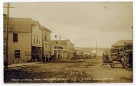 Port Orchard, Wa. Antique Real Photo Postcard. Main