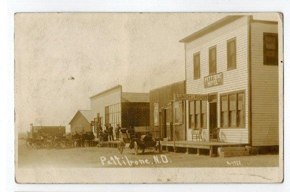 Pettibone, N.D. Pair of Antique Real Photo Postcards.