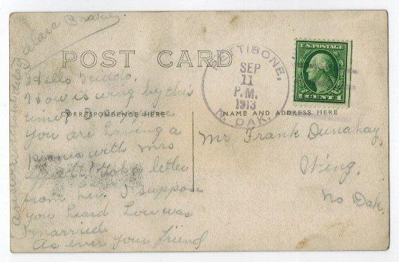 Pettibone, N.D. Pair of Antique Real Photo Postcards. - 2
