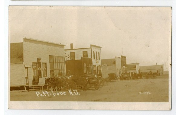 Pettibone, N.D. Pair of Antique Real Photo Postcards. - 3
