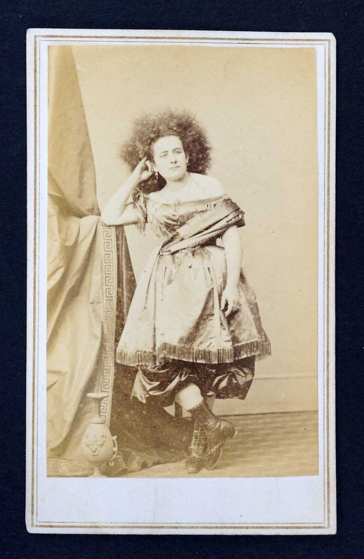 E. & H.T. Anthony CDV Carte de Visite Gypsy Woman,