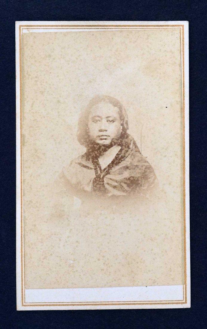 Princess Victoria Kamehameha CDV Carte De Visite by