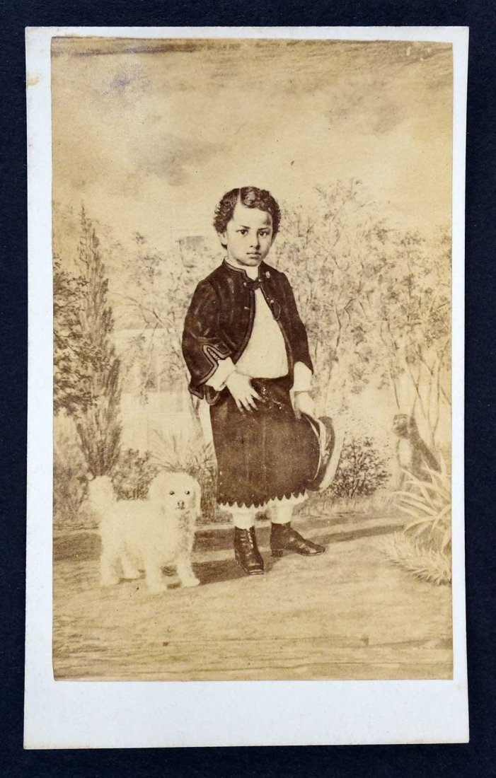 Prince Albert Son of Kamehameha IV and Emma Hawaii
