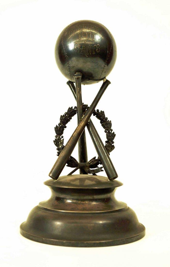 1911 Fred Merkle New York Giants Championship Trophy