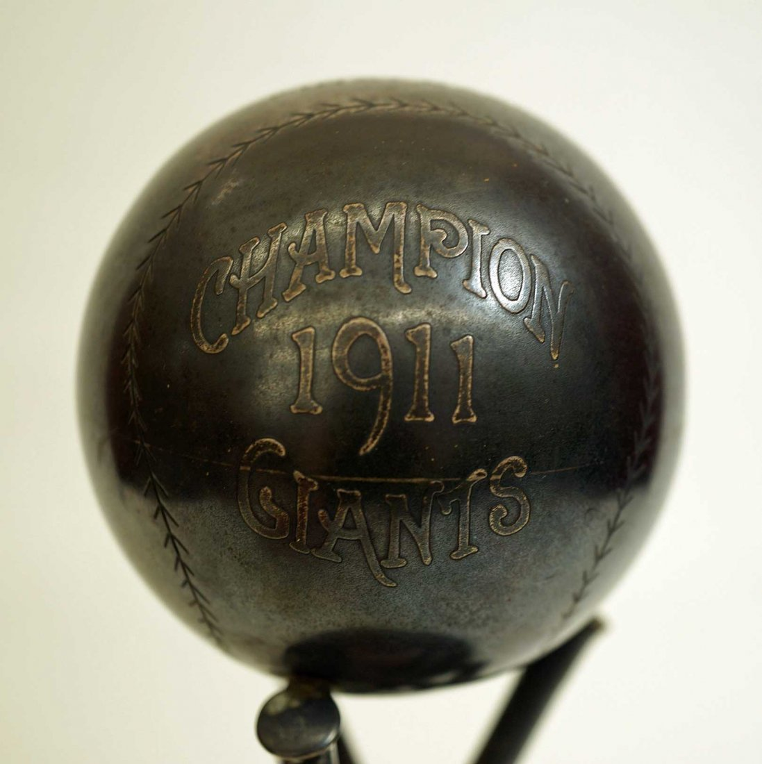 1911 Fred Merkle New York Giants Championship Trophy - 3