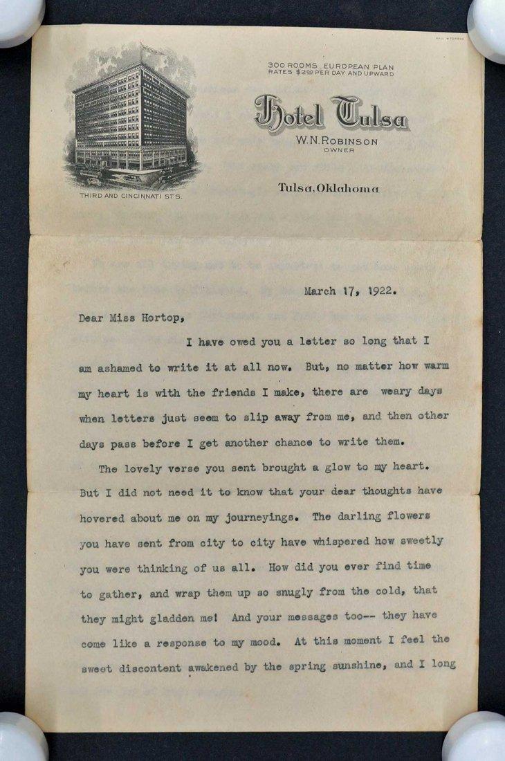 Helen Keller ALS Signed Letter - 3