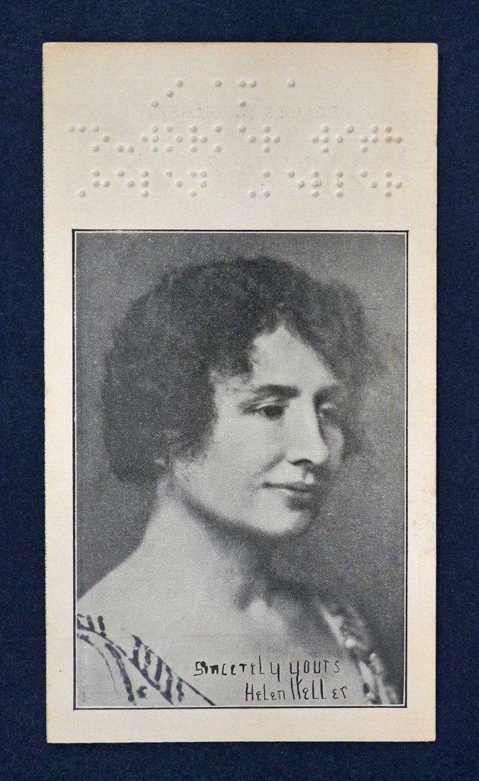 Helen Keller Contribution Brochure