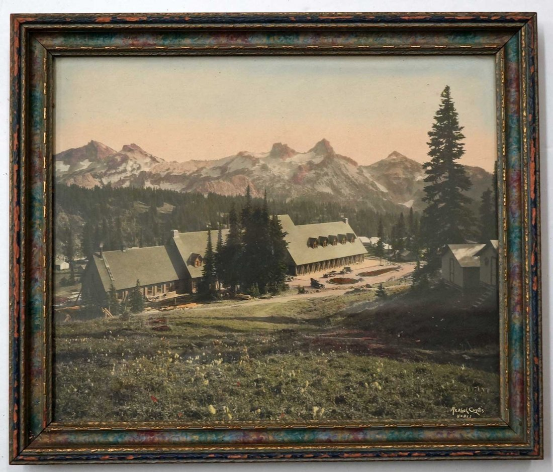 Asahel Curtis (1874-1941) Hand-tinted Silver Print