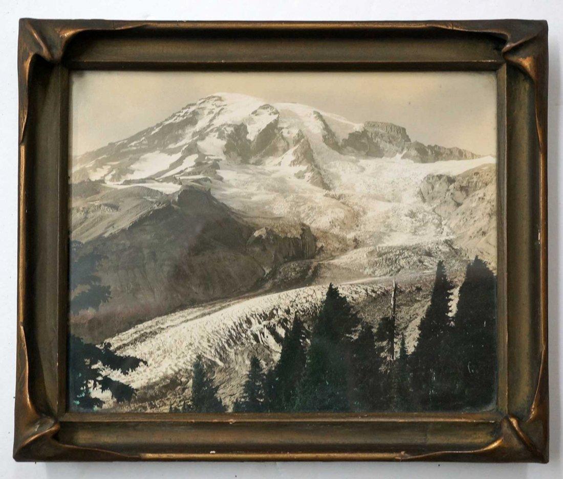 L.G. Linkletter Framed Silver Print