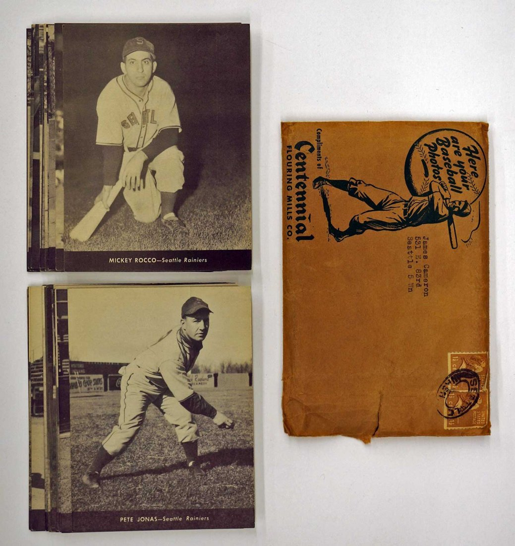 1947 Centennial Flour Seattle Rainiers Complete Set