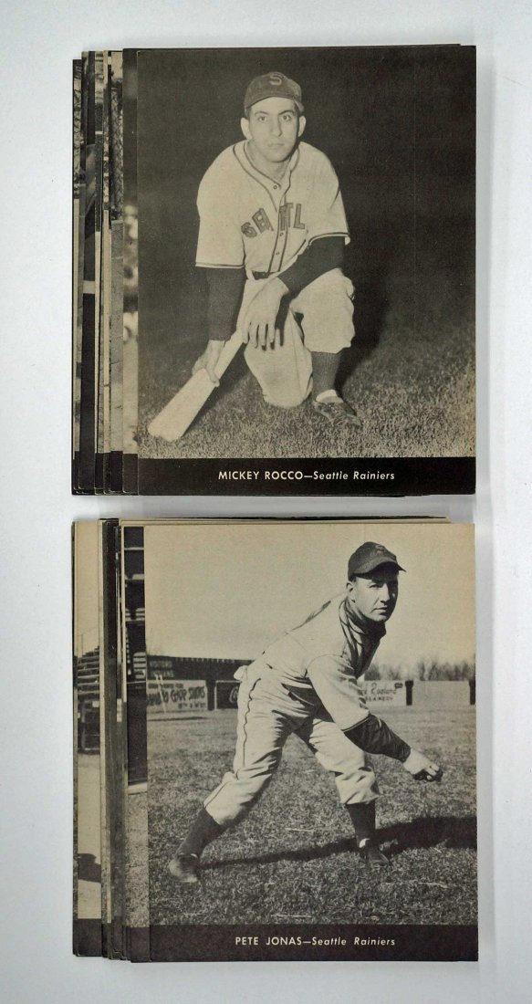 1947 Centennial Flour Seattle Rainiers Complete Set - 2