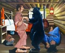Harvey Goodale (1900-1980 Alaska) Untitled Bear