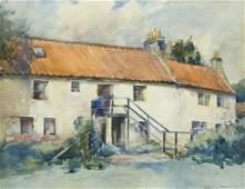Jeanne M. Stewart (b.1868 Washington) Untitled Cottage